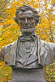 Lincoln Bust, Saint-Gaudens National Historic Park, Cornish, New Hampshire