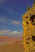 Grand Canyon and Cliff Wall from Kaibab Trail, Grand Canyon National Park, Arizona