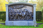 The Shaw Memorial, Memorial to Robert Gould Shaw and the Massachusetts Fifty-Fourth Regiment, Saint-Gaudens National Historic Park, Cornish, New Hampshire
