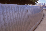 The American Immigrant Wall of Honor, Ellis Island, Statue of Liberty National Monument, New York