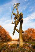 Rocket Thrower Statue, 1964 NY World's Fair, Flushing Meadows Corona Park, Queens, New York