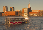 Duck Boat Tour, Museum of Science, Charles River, Boston, Massachusetts