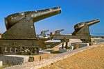 Cannon on Ramparts, Fort Clinch State Park, Fernandina Beach, Jacksonville, Florida