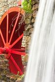 Grist Mill Water Wheel, Longfellow's Wayside Inn, Sudbury, Massachusetts
