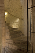 Caerphilly Castle Staircase, Medieval Concentric Castle, Castell Caerffili, Wales, United Kingdom