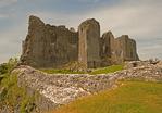 Carreg Cennen Castle, Castell Carreg Cennen, Brecon Beacons National Park, Trapp, Llandeilo, Carmarthenshire, Wales, United Kingdom, Great Britain