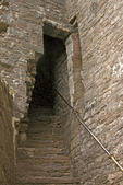 Carreg Cennen Castle Staircase, Castell Carreg Cennen, Brecon Beacons National Park, Trapp, Llandeilo, Carmarthenshire, Wales, United Kingdom, Great Britain