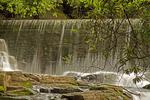 Aberdulais Falls, Aberdulais, Neath, South Wales. Lower Pennant Sandstone, River Neath, Wales, United Kingdom, Great Britain