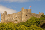 Harlech Castle, Castell Harlech, Snowdonia National Park, Harlech, Gwynedd, Wales, United Kingdom, Great Britain