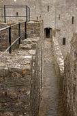 Pembroke Castle Walkway, Castell Penfro, medieval castle, Pembroke, Wales, United Kingdom, Great Britain
