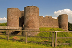 White Castle, Castell Gwyn, Medieval Castle, Brecon Beacons National Park, Monmouthshire, Wales, United Kingdom, Great Britain