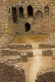 Kidwelly Castle, Castell Cydweli, Medieval Norman castle, Kidwelly, Carmarthenshire, Wales, United Kingdom, Great Britain