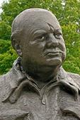 Winston Churchill Bust, Franklin Delano Roosevelt National Historic Site, Hyde Park, New York
