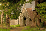 Stone Church in Brecon, Brecon Beacons National Park, Wales, United Kingdom, Great Britain