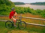 Biking in Cape Cod National Seashore, Cape Cod, Massachusetts