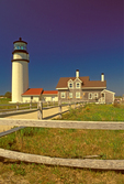 Highland Light Station, Cape Cod Light, Highland Museum and Lighthouse, Truro, Massachusetts