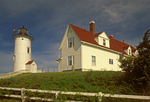 Nobska Light, Cape Cod Lighthouse, Falmouth, Massachusetts