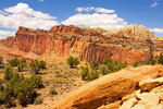 Waterpocket Fold Geologic Formation, Capitol Reef National Park, Utah