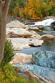 Glacial Potholes of the Deerfield River, Shelburne Falls, Massachusetts