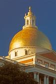 Massachusetts State House Capitol Building, Federalist Style Architecture, Charles Bulfinch Architect, Freedom Trail, Boston, Massachusetts
