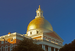 Massachusetts State House Capitol Building, Federalist Style Architecture, Charles Bulfinch Architect, Freedom Trail, Boston, Massachusetts