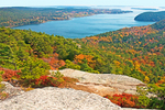 Somes Sound from Acadia Mountain, Acadia National Park, Mount Desert Island, Maine