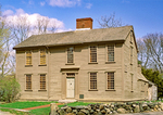 Hancock-Clarke House, 18th Century New England Georgian Colonial Architecture, Battle of Lexington and Concord, Lexington, Massachusetts