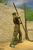 The Worker Statue, Lowell National Historical Park, Lowell, Massachusetts