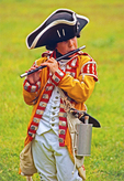 American Revolution Colonial Child Reenactor Fifer Musician
