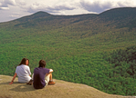 Hikers on Table Rock Summit, Grafton Notch State Park, Newry, Maine
