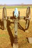 Cannon at High Water Mark of the Rebellion, American Civil War Memorial, Gettysburg National Military Park, Gettysburg, Pennsylvania