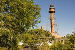 Sanibel Island Light, Point Ybel Light, Historic 19th Century Lighthouse, Florida