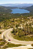 Highway 40 and Donner Lake from Donner Summit, Truckee, California