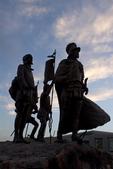 La Jornada Statue, Bronze Sculpture, Albuquerque Museum of Art and History, Albuquerque, New Mexico
