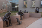 People Statue, Albuquerque Museum of Art and History, New Mexico