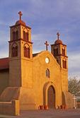San Miguel de Socorro, 19th Century Spanish Mission Catholic Church, Socorro, New Mexico