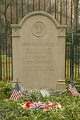 Grave of President Theodore Roosevelt, Oyster Bay, Cove Neck, Long Island, New York