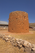 Torreon, Rock Fort Tower, 19th Century Architecture, Lincoln State Monument, Lincoln, New Mexico
