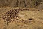 Tyonyi Ruins, Anasazi Puebloan Ruins, Bandelier National Monument, New Mexico