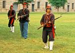 Zouave Union Civil War Renactors