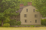 Old Manse, Georgian Clapboard Building, Home of Ralph Waldo Emerson and Nathaniel Hawthorne, 18th century architecture, Concord, Massachusetts