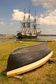 Friendship of Salem, Three Masted, Square Rigged, East Indiaman Merchant Vessel, Salem Maritime National Historical Park, Salem, Massachusetts