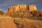Kitchen Mesa Entrada Sandstone Cliffs, Ghost Ranch, Abiquiu, New Mexico