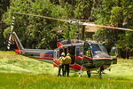 Medical Evacuation Helicopter, Yosemite Valley, Yosemite National Park, California