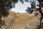 Echo Amphitheater Entrada Sandstone Formation, Desert Varnish, Carson National Forest, Abiquiu, New Mexico