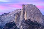 Half Dome Rock Formation at Sunset from Glacier Point, Yosemite National Park, California
