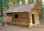 Squatter's Cabin, Giant Forest, Sequoia National Park, Sierra Nevada Mountain Range, California