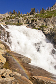 Rainbow and Tokopah Falls, Marble Fork of the Kaweah River, Sequoia National Park, California