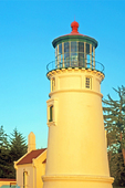 Umpqua River Light, 19th Century lighthouse, Winchester Bay, Oregon