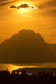 Sunset from Signal Mountain, Grand Teton National Park, Teton Mountain Range, Jackson Hole, Wyoming